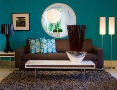 Exactly The Colors I Want To Incorporate Into The Living Room - Teal living room decorating ideas
