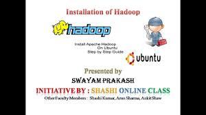 big data class hadoop and big data class 2 installation of hadoop on ubuntu
