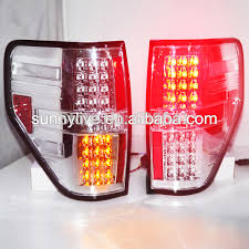 2010 ford f150 tail light cover f 150 raptor led tail l chrome housing clear lens in car light
