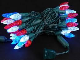 red white christmas lights blue and white christmas lights coryc me