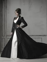white and black wedding dresses black and white sleeves wedding dress devilnight co uk