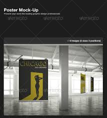 12 poster mock up design templates template idesignow