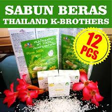 Sabun Thailand sabun beras lusinan k brothers thailand 100 asli dan halal