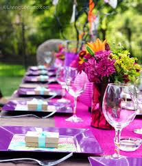 40th birthday party ideas backyard table decorating ideas