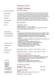 Summary Examples For Resumes by Graphic Design Resume Designer Samples Examples Job