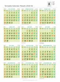 Gambar Kalender 2018 Lengkap Hanya Ada Satu Safembrik