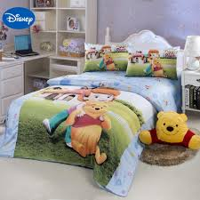 girls cotton bedding winnie the pooh bedding twin ktactical decoration