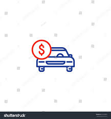 car shipping rates u0026 services car payment transportation cost front view stock vector 623309099