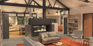 Modern Farmhouse Living Room Modern Farmhouse Barrett Studio Architects