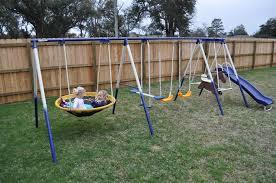 Backyard Swing Set Ideas Backyard Discovery Swing Set All In Home Decor Ideas