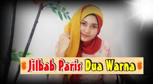 tutorial jilbab dua jilbab tutorial jilbab paris segi empat dua warna by nica 196 youtube