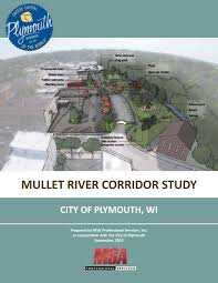 Plymouth Wisconsin Map by Mullet River Corridor Study 2015 By Msa Professional Services Issuu