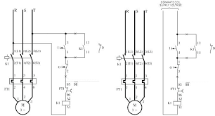 3 phase starter connection motor wiring diagram and size of