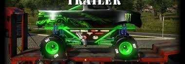 monster truck trailer oversize v1 5 modhub