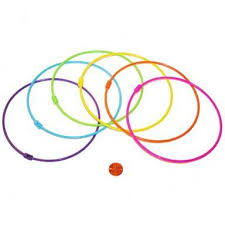 plastic rings large images Large plastic rings for games colorful game supply jpg