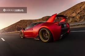 widebody ferrari misha designs misha ferrari 458 limited edtion wide body kit