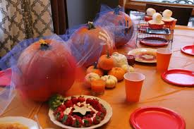 Fall Party Table Decorations - fall table decor a moms take loversiq easy runner home decorators