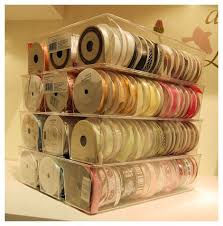 ribbon stores 180 best craft storage ribbons images on ribbon