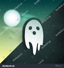 scary halloween poster banner flyer classic stock vector 151265747