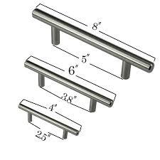 black t bar kitchen cupboard handles 4 6 8 stainless steel t bar pull hardware drawer kitchen cabinet door handles