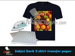inkjet t shirt transfer paper a3 magic transfer