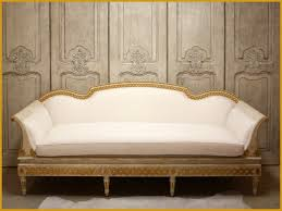 sofa creme gustavian swedish carved exposed frame sofa traditional