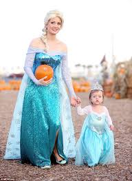 Pumpkin Princess Halloween Costume Holly Madison Daughter Rainbow Aurora Wear Frozen Costumes
