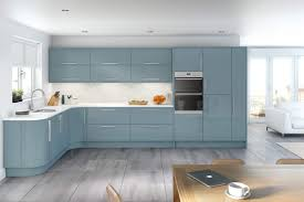 blue modern kitchen 7 ways to master pastel blue at home nonagon style