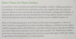 plants native to wisconsin think global garden local new york botanical garden u0027s native