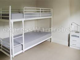 Bunk Beds  Ikea White Metal Bunk Bed Instructions White Metal - Wooden bunk beds ikea
