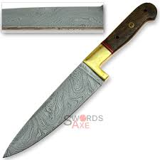 High Carbon Steel Kitchen Knives Chop Suey Iron Chef Kitchen Style Damascus Forged High Carbon