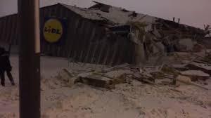 lidl strasbourg siege nine arrested after looters smash digger into bound lidl