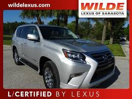 lexus of sarasota used car of the week certified pre owned 2014 lexus gx 460