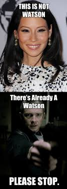Asian Women Meme - women in the media lucy liu to play watson on new sherlock holmes