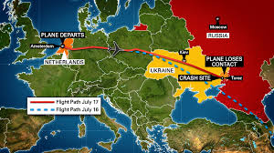 malaysia airlines flight 17 crash area ukraine google earth map