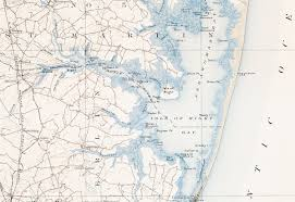 Ocean City Md Map Historic Maps Upjohn Center For The Study Of Geographical Change