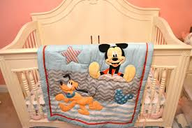 Mickey Mouse Crib Bedding Mickey Mouse Crib Bedding Set At Home And Interior Design Ideas