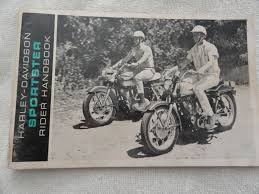 1965 1966 harley davidson sportster motorcycle owners manual