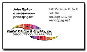 Business Card Printing San Diego Digital Printing And Graphics Business Cards