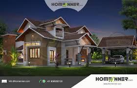2700 sq ft 4 bedroom traditional kerala luxury house plan