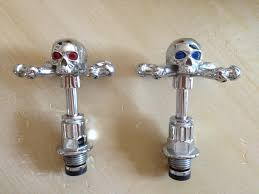 Faucet Caps Stephen Eihorn Skull Faucet Inserts From Use Com Gothic At Home