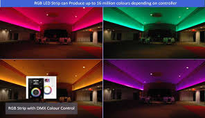 led lighting rgb white lineal indoor lights