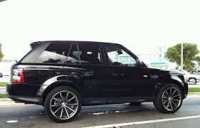 lime green range rover black range rover supercharged with custom rims exotic cars on