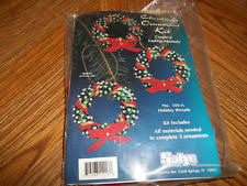 sulyn christmas ornament bead kit victorian lantern makes 3