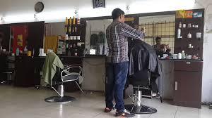 pakistani barber cutting hair youtube