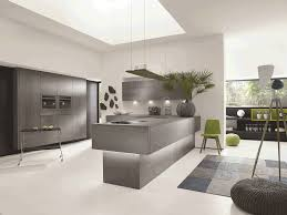 alno concretto kitchen with a ceramic concrete effect finish
