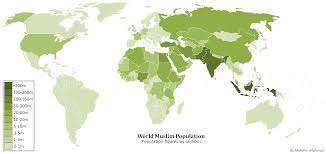 Population Map File World Muslim Population Map2 Png Muslim Population Map