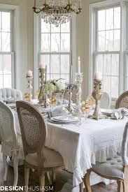 mixing dining room chairs new year u0027s day brunch table setting mixing gold and silver