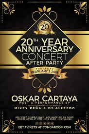 20 yr anniversary conga room presents 20 yr anniversary after concert party tickets