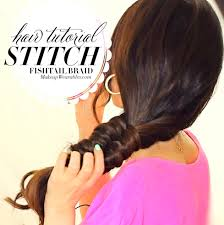 hairstyles for long hair at home videos youtube new cool braids hairstyles stitch fishtail braid tutorial video